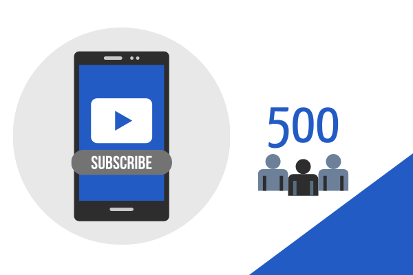 500 YouTube Subs